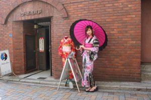 芸能界で👩🎤ご活躍の #高坂琴水 さんが当店ご利用頂きました。 とても可愛いです👘😍💕
