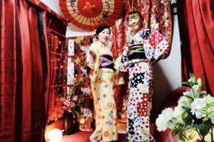 限定プランをご利用頂きました💕レトロモダンなお着物、伝統的な和柄のお着物それぞれとてもお似合いです❤️👘