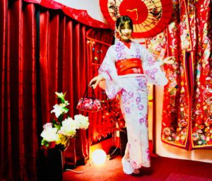#浅草観光 かわいいゆかたをお選びいただきました。 挑了可愛的浴衣到淺草觀光囉!