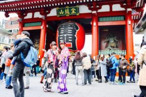 來自海外的客人們,✨✨在淺草觀光體驗和服👘