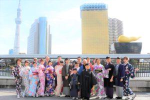 華人新年一起來日本體驗和服的台灣客人