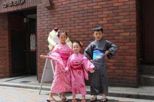 可愛的小朋友們 #China #kids #yukata