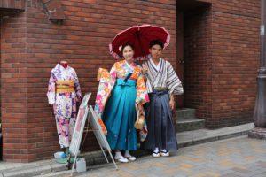#袴プラン  兩位穿袴服都非常合適呢#台灣客人