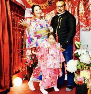 香港からお越しのお客様です。😊👘🎀和服体験ありがとうございます😊お子様とお母様が、艶やかな新柄をお選び頂ききました。仲良く浅草観光にご家族でお出掛けです(*^◯^*)また当店スタジオでの撮影もできます♡