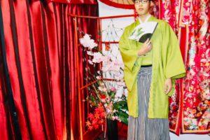 袴で成人式、素敵です!