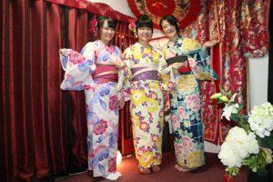 海外的客人穿上浴衣很有日本風情呢!