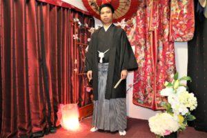 伝統的 紳士 袴