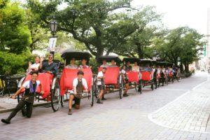 #rickshaw #Japanese #experience #yukata #group #日本旅遊 #觀光 #人力車