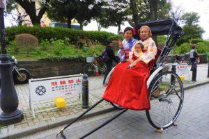 海外からお越しのお客様、人力車プランをご利用ありがとうございます!