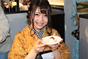 手まり寿司、完成。美味しそう!!