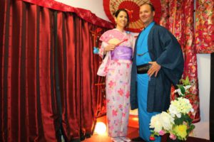 A couple from France experienced our Kimono!