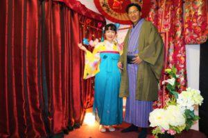 香港的情侶來到了淺草觀光,並體驗日本傳統服飾~