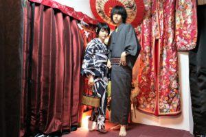 大和撫子に日本男子、浴衣で浅草デート!