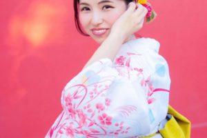 華雅公認モデルのジュンさんの写真
