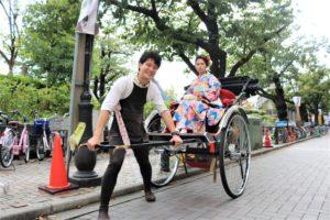 台湾から一人旅、初めての日本旅行。