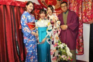 來自台灣的一群好友一同穿上了和服呢!看起來真的很棒呢!